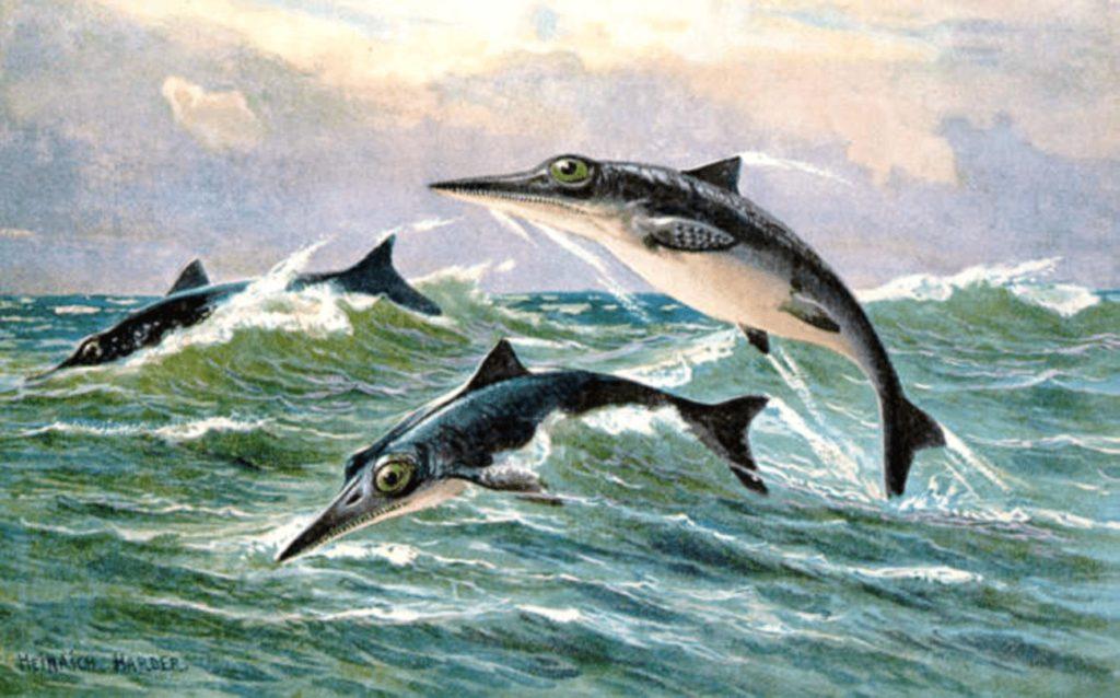 Итиозавры над волнами