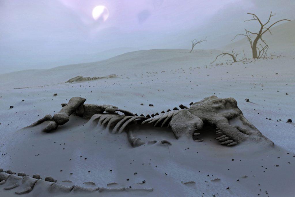 останки тираннозавра