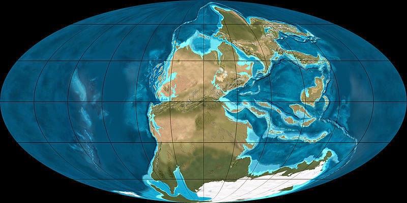 Земля в Пермский период